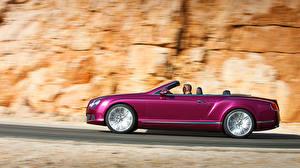 Fotos Bentley Cabrio Seitlich auto
