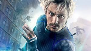 Pictures Avengers: Age of Ultron Man Heroes comics Pietro Maximoff / Quicksilver Movies
