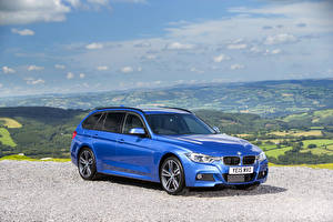 Image BMW Sky Light Blue Metallic 2015 330d xDrive M Sport Touring auto