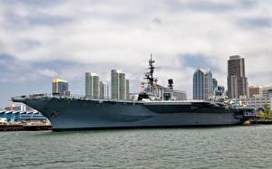 Bilder Flugzeugträger Kalifornien San Diego USS Midway Heer