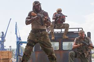 Photo The Expendables 2010 Wesley Snipes Men Negroid 3 Terry Crews Randy Couture
