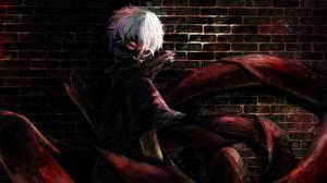 Tapety na pulpit Tokyo Ghoul Maski Młody człowiek TG kaneki ken Anime