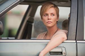 Hintergrundbilder Charlize Theron Dark Places Film Prominente Mädchens