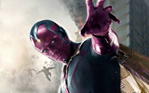 Wallpaper Avengers: Age of Ultron Heroes comics Men Vision film Fantasy