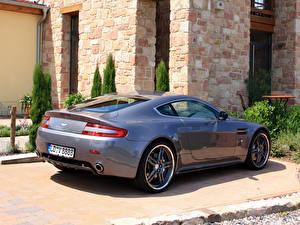 Fotos Aston Martin Grau Cargraphic V8 Vantage Autos