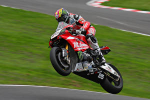 Pictures Motorcyclist Motorcycles Sport