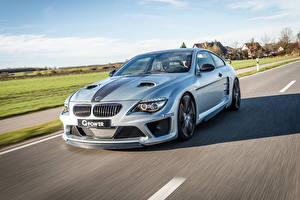 Pictures BMW Roads At speed 2015 G-Power M6 Hurricane CS Ultimate E63 auto