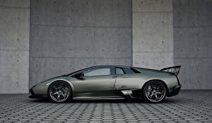 Hintergrundbilder Lamborghini Seitlich Luxus Wheelsandmore Murcielago LP720-4 SV SuperVeloce Autos
