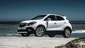 Fotos Opel Weiß Seitlich 2015 Mokka ZA-spec auto