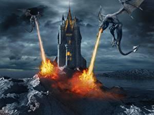 Photo Dragons Fire Castles Two Symphonic Metal-Dark end Beautiful VI (2013) Music