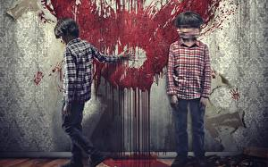 Picture Blood 2 Wall Sinister 2, 2015 Movies Children