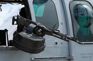 Wallpapers Machine guns Helicopter FN MAG 7.62 Army