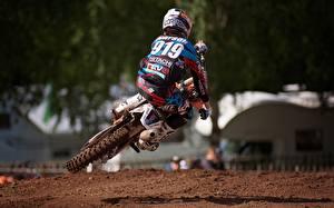 Pictures Motocross Motorcyclist Helmet Sport Motorcycles