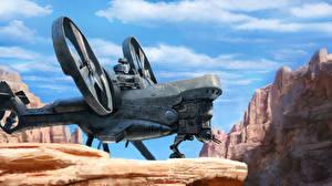 Bilder Technik Fantasy Wandelflugzeug Fantasy