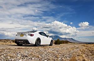 Hintergrundbilder Subaru Himmel Weiß Wolke brz automobil