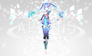 Tapety na pulpit Hatsune Miku Vocaloid iori Dziewczyny