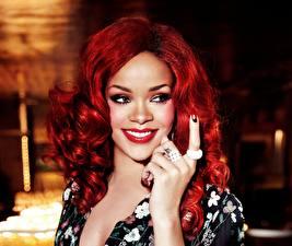 Photo Rihanna Makeup Redhead girl Animals Girls