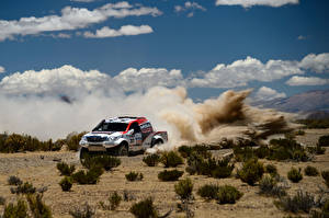 Wallpaper Toyota Clouds Rallying Hilux auto Sport