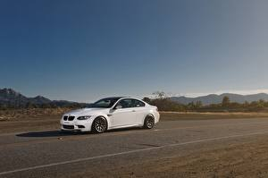 Image BMW Sky White m3 e92 Cars