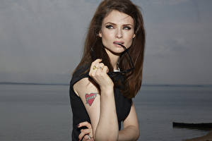 Pictures Tattoos Brown haired Hands Sophie Ellis Bextor Music Celebrities Girls