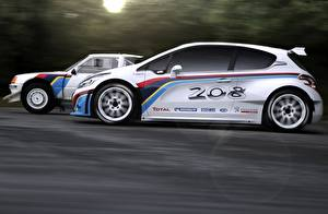 Images Peugeot Moving Side 208 T16 Cars