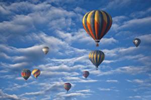 Image Sky Balloon (aeronautics) Clouds Nature Sport Aviation