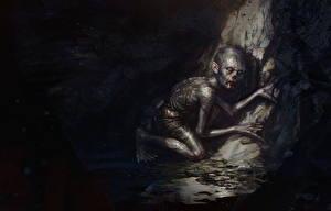 Bakgrunnsbilder Ringenes herre Gollum Film Fantasy
