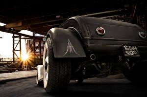 Fotos Ford Großansicht Hinten Rad Roadster 1929 roadster Autos