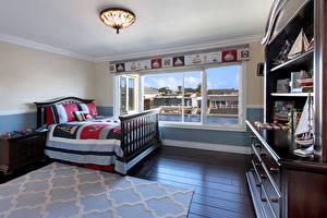 Picture Interior Design Bedroom Bed Chandelier Rug Room