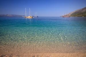 Pictures Croatia Sea Sailing Ships Water Nature