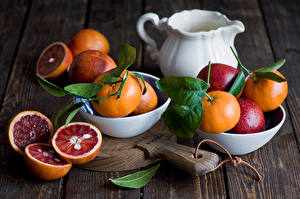 Hintergrundbilder Obst Mandarine Blattwerk Kanne Lebensmittel