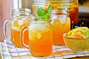 Picture Drinks Juice Orange fruit Jar Food