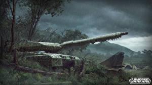 Image Armored Warfare Tank Rain Leopard 2 Leopard 2 vdeo game