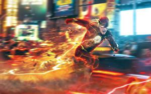 Photo Heroes comics The Flash 2014 TV series The Flash hero Run barry allen Fantasy