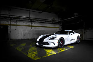 Image Dodge Tuning White 2015 GeigerCars Viper GTS 710R (based on Dodge SRT Viper GTS) automobile
