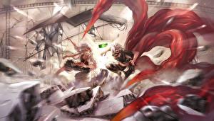 Tapety na pulpit Tokyo Ghoul Chłopacy art mk kaneki ken suzuya juuzou Anime