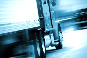 Wallpapers Lorry Closeup Driving auto