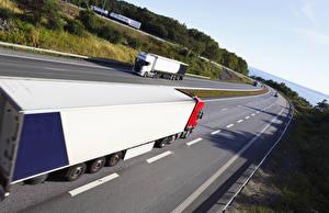 Wallpapers Trucks Roads automobile