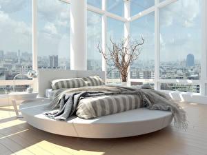 Image Interior Room Window Bed