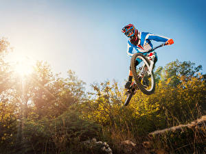 Picture Sky Bicycles Uniform Jump Helmet sports