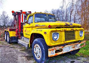Wallpapers Lorry Yellow automobile