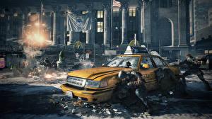 Sfondi desktop Tom Clancy Taxi - Auto Soldati  Videogiochi Fantasy Grafica_3D