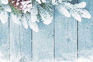 Hintergrundbilder Winter Neujahr Zapfen Schnee Ast Bretter Natur