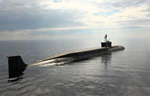 Image Submarines Sea 955 Army