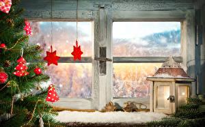 Hintergrundbilder Feiertage Neujahr Kerzen Fenster Ast Zapfen