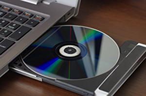 Picture Closeup Laptops compact disc reader