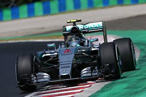 Bilder Mercedes-Benz Formula 1 F1 W06 Nico Rosberg Sport Autos