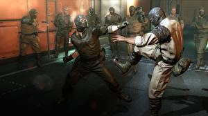 Hintergrundbilder Metal Gear Mann Schlägerei Solid V, Solid Snake Spiele 3D-Grafik