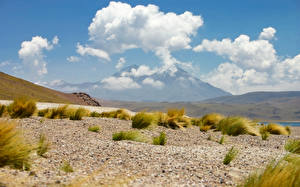 Images Chile Desert Sky Clouds atacama Nature