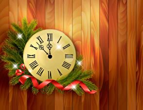 Hintergrundbilder Feiertage Neujahr Uhr Ast Band Bretter